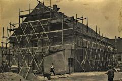 das Gemeindehaus Parkstrasse 1 wird abgeputzt